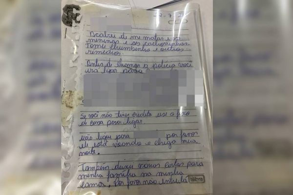 Carta de suicídio