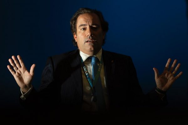 Presidente da Caixa, Pedro Guimarães concede entrevista ao Metrópoles