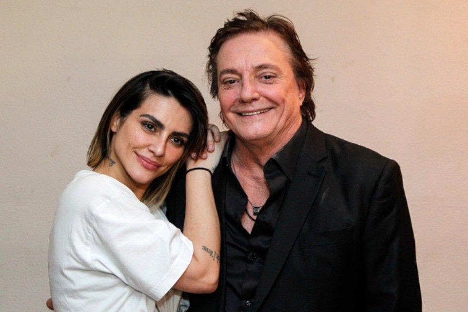 Cleo Pires e Fábio Jr. abraçados