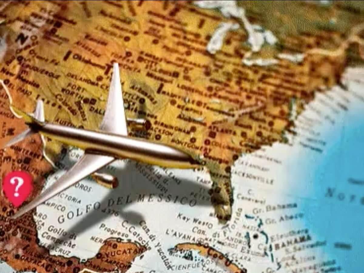 Ilustração: avião, viagem