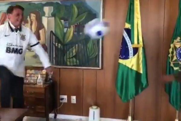 Bolsonaro e Marcelinho Carioca