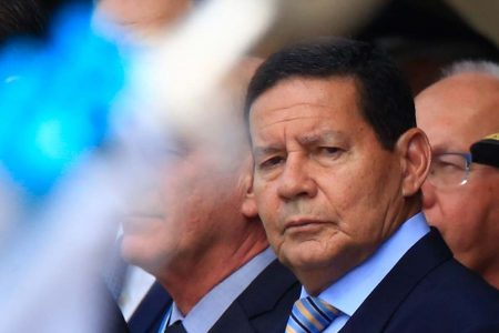 Vice presidente Hamilton Mourão
