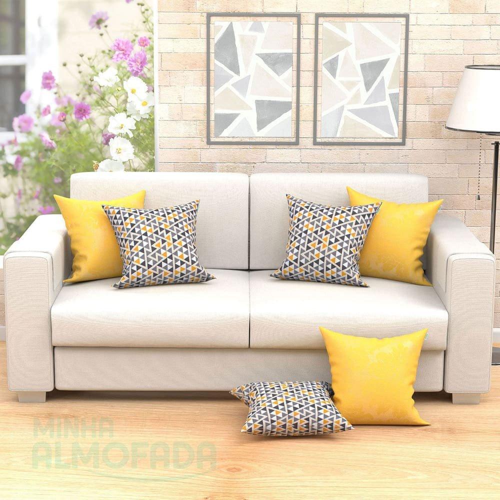 Kit de almofadas decorativas para sala