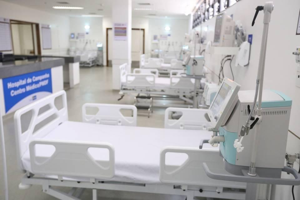 Hospital de campanha tem 100 leitos para Covid-19 prontos, mas ociosos. GDF aguarda decisão do TCDF – Metrópoles