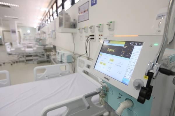 Hospital de Campanha no Centro Médico da PMDF3