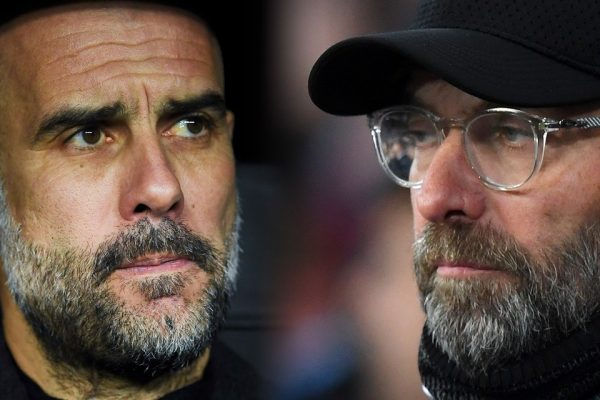 Guardiola e Klopp