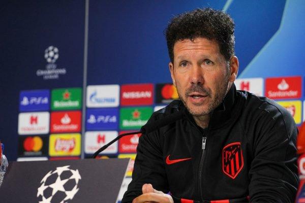 Diego Simeone Atlético de Madrid
