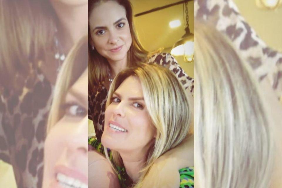 Carola Pertence e Sarah Abrahão Tolentino