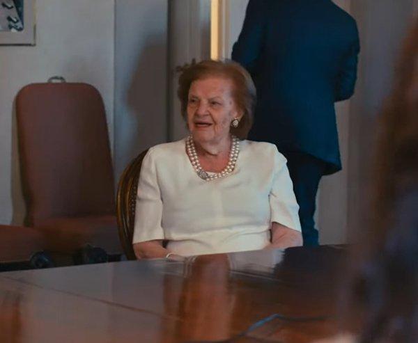 Wanda Miletti Ferragamo em trecho de documentário