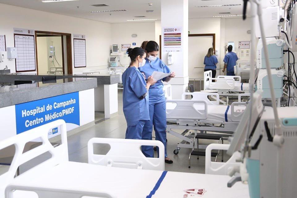 hospital de campanha da polícia militar do DF
