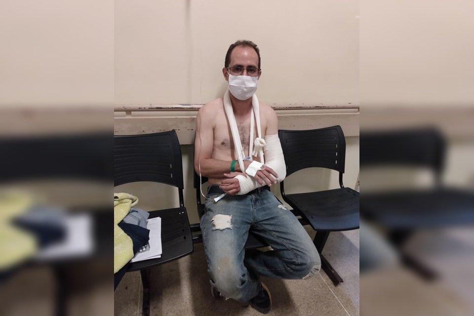 Conselheiro agredido