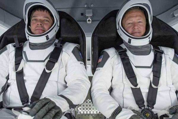 Astronautas da SpaceX