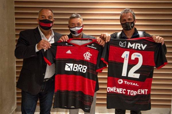 Domènec Torrent Flamengo