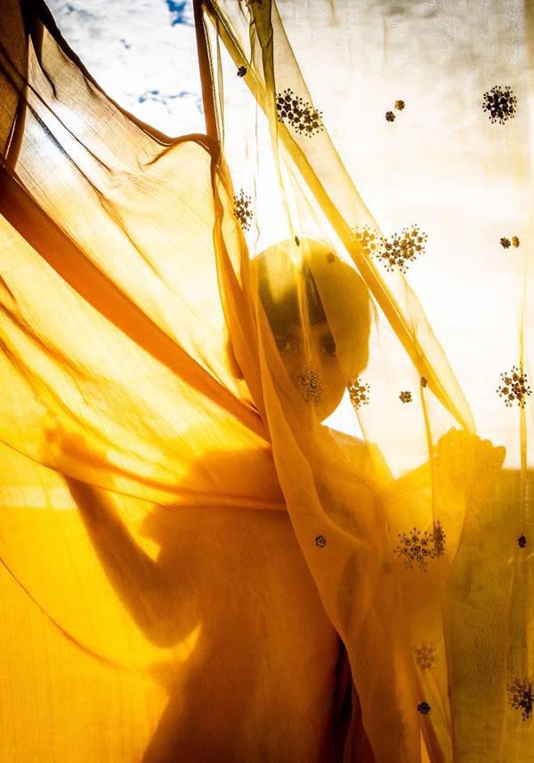 Foto de Hashim Badani para a Vogue Índia