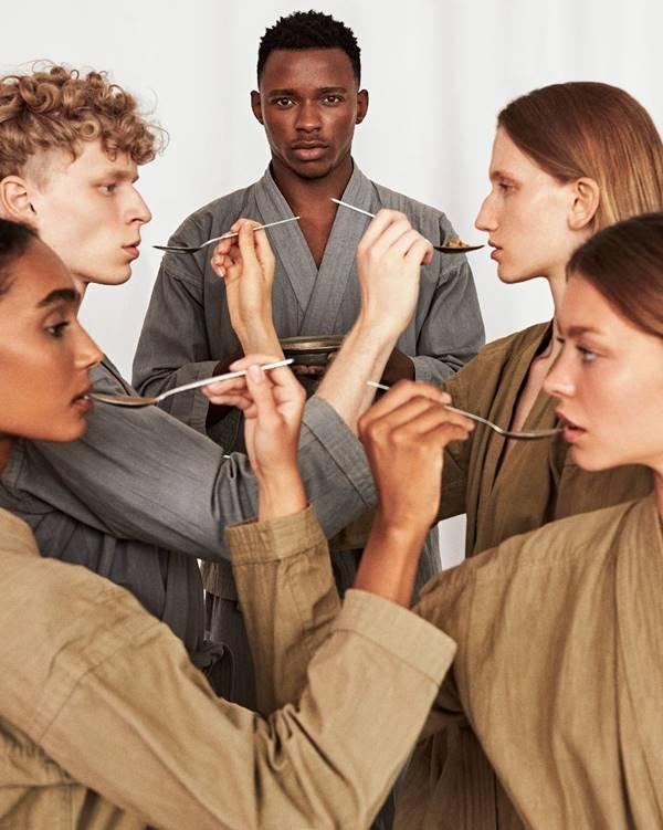 Foto de Branislav Simoncik para a Vogue Portugal