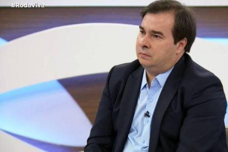 Rodrigo Maia no Roda Viva