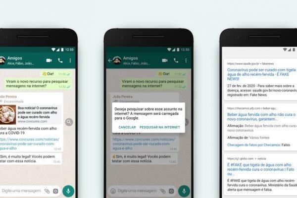 Whatsapp ganha novo recurso de checagem de fatos