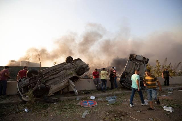 Explosão poro Líbano Beirute