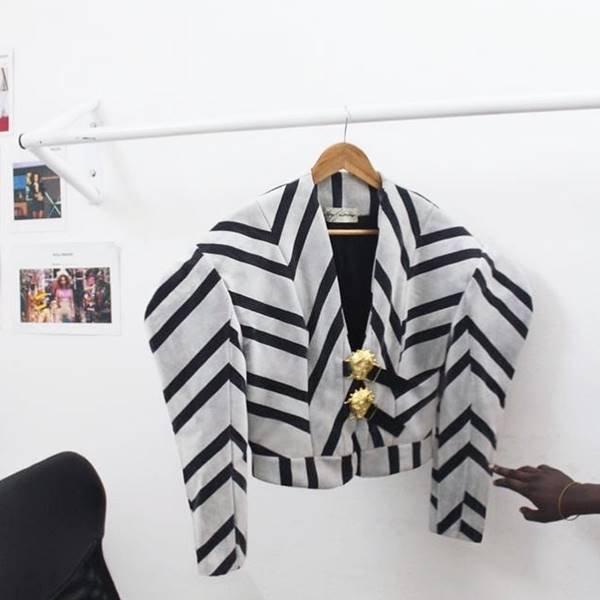 Peça da estilista Loza Maléombho