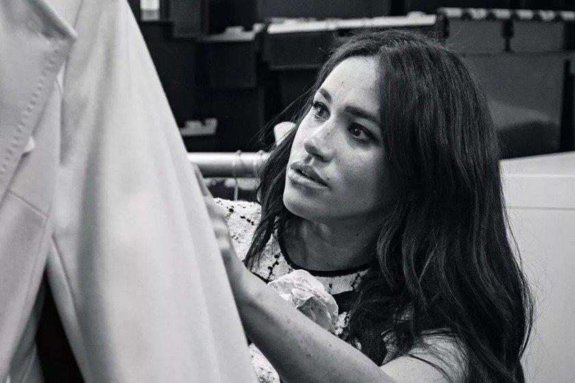 Meghan Markle na Vogue UK