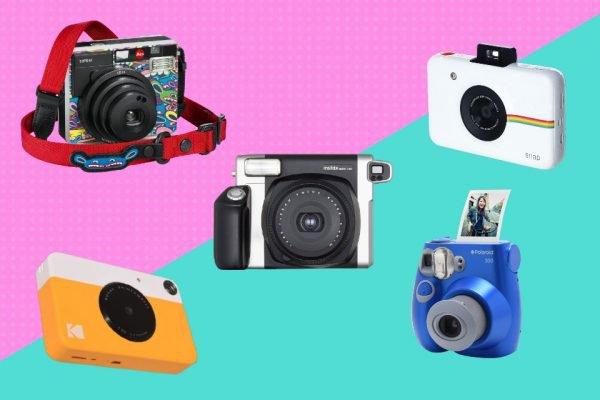 Vitrine M, lista de câmeras instantâneas