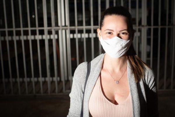 Médica Larissa Bragança, voluntária a receber vacina teste para o novo coronavirus