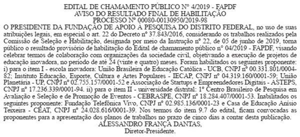 Extrato DODF 06/08/2020