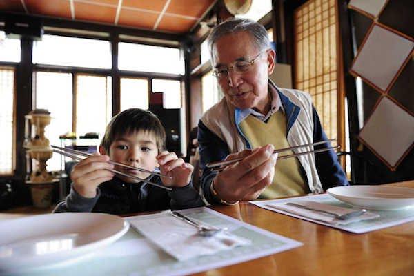 respeito aos idosos na Ásia