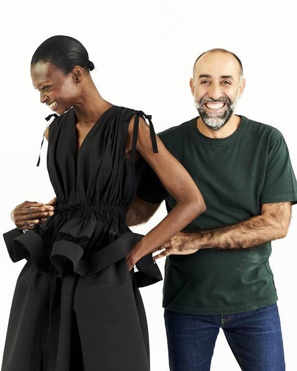 Rabih Kayrouz e modelo
