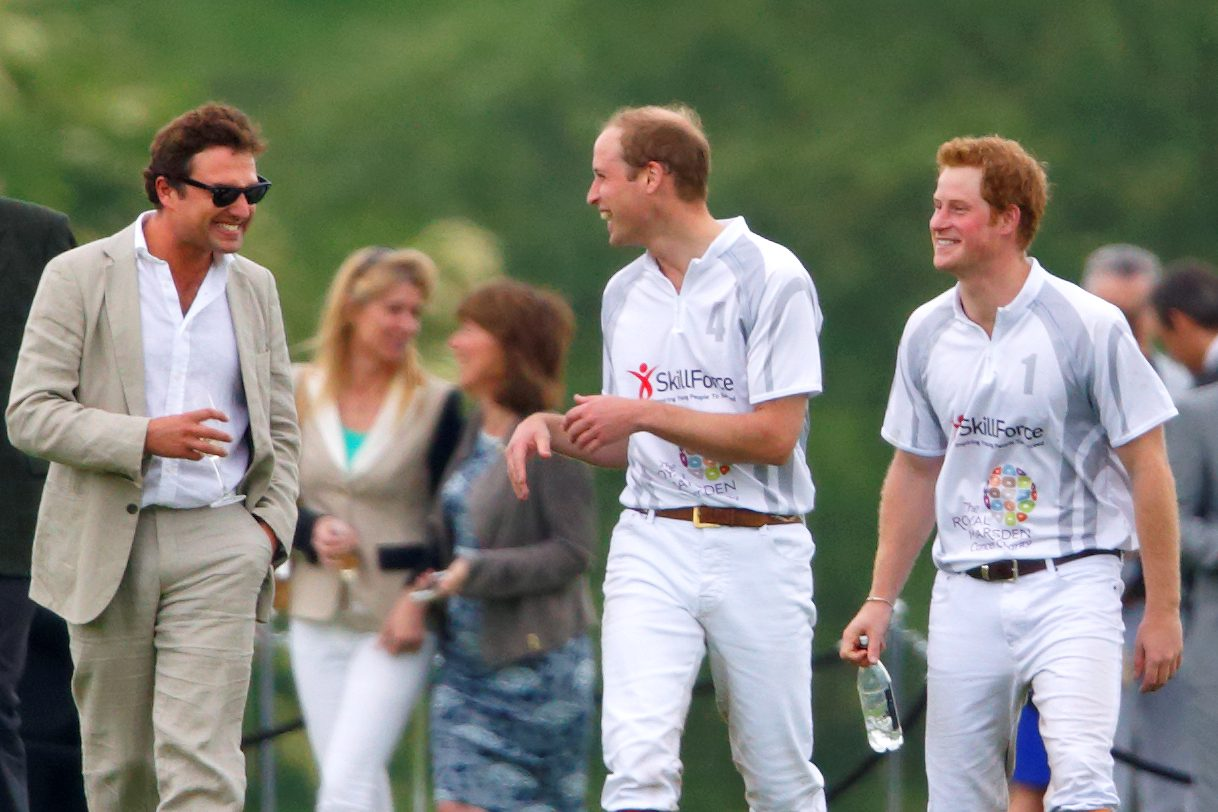 Thomas van Straubenzee, príncipe William e Harry