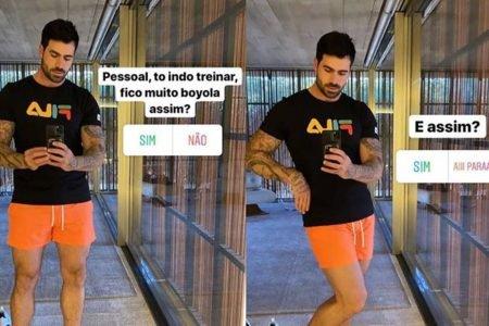 Ex-BBB Rodrigão pergunta se está