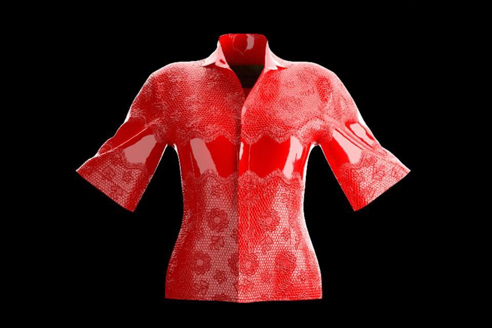 Camisa Zezy vermelha
