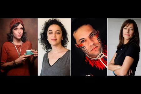 Rita von Hunty, Marcia Tiburi, Edgar Kanaykõ e Adriana Zehbrauskas