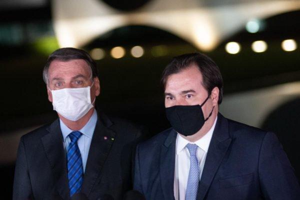 Bolsonaro e Maia1