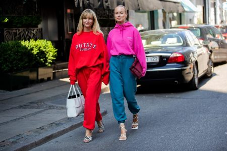 Looks de moletom da Semana de Moda de Copenhagen