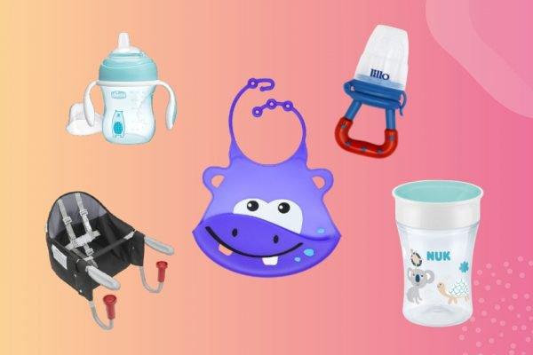 Vitrine M, lista de produtos para introdução alimentar de bebês