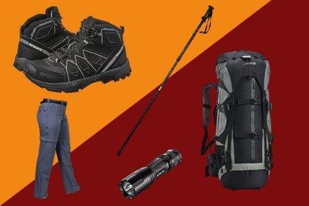 equipamentos de trilha