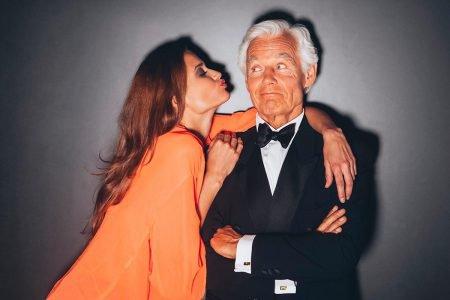 homem mais velho e mulher mais nova