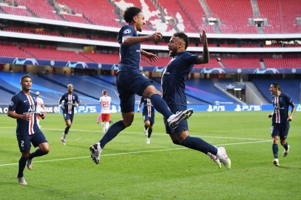 Neymar PSG Marquinhos