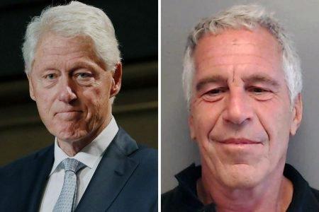 Bill Clinton e Jeffrey Epstein