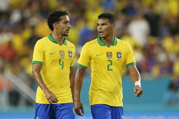 Thiago Silva e Marquinhos