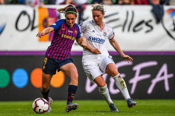 Barcelona x Lyon feminino