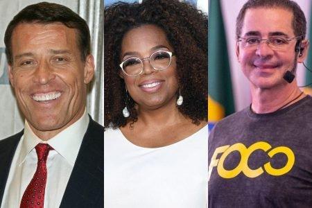 Tony Robbins, Oprah Winfrey e Paulo Vieira
