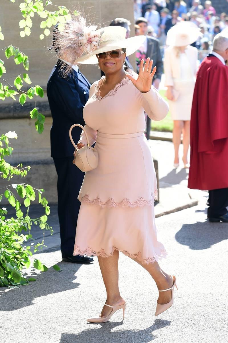 Oprah Winfrey no casório real