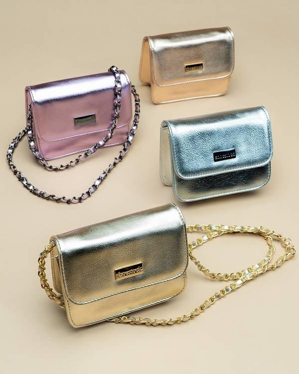 Bolsas metalizadas da Shoestock