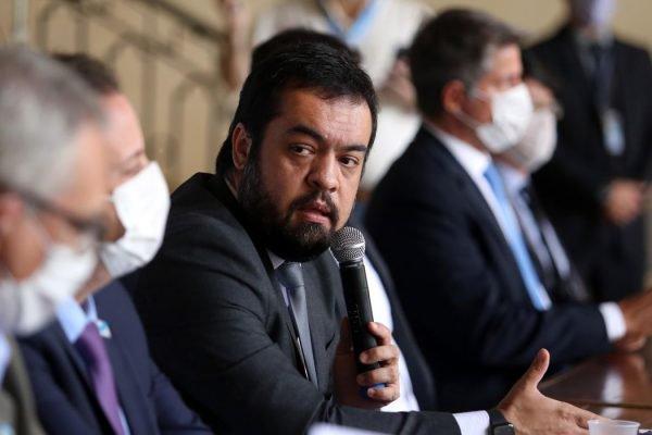 Claudio Castro, governador em exercício do Rio de Janeiro