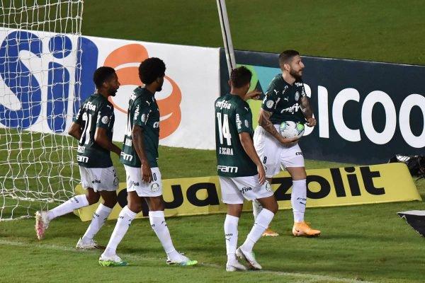 Bahia x Palmeiras pelo campeonato brasileiro