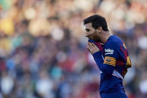 Messi capitão Barcelona