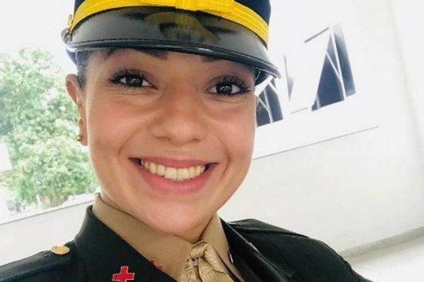 Bruna Carla Borralho Cavalcanti de Araújo, sargento do Exército morta nesse domingo