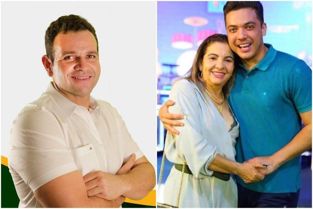 Mãe de Wesley Safadão tenta, de novo, eleger irmão do cantor prefeito no CE